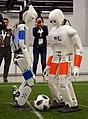 NimbRo-OP2X Humanoid Soccer Robot at RoboCup 2018 in Montreal.jpg