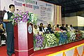Nitin Gadkari addressing on increasing export of marine products after inaugurating the modernization and redevelopment work of Sassoon Dock, in Mumbai on August 02, 2014.jpg