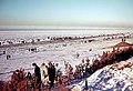 Noordzee, bevroren branding, Zandvoort winter 1962-1963.jpg