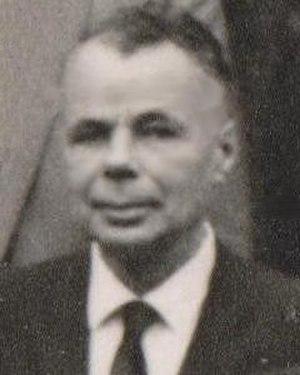 Lothar Wolfgang Nordheim - Lothar Nordheim, 1963 at Copenhagen