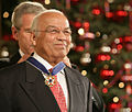 Norman Francis awarded 2006 Presidential Medal of Freedom.jpg
