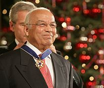 Norman Francis awarded 2006 Presidential Medal of Freedom.jpg