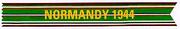 Normandy Campaign Streamer.