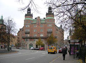 Norra Bantorget - The LO-building at Norra Bantorget