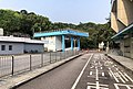 Northbound vehicular lane of Man Kam To Control Point (20190319084417).jpg