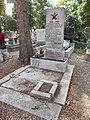 Novák Gyula, Spanish Civil War volunteer, Óvári Cemetery, 2017 Mosonmagyaróvár.jpg