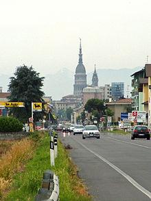 La SS 11 all'uscita di Novara