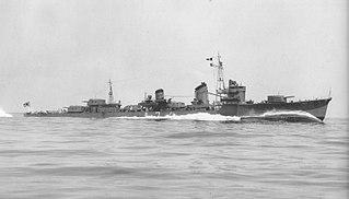 Japanese destroyer <i>Nowaki</i> (1940) ship