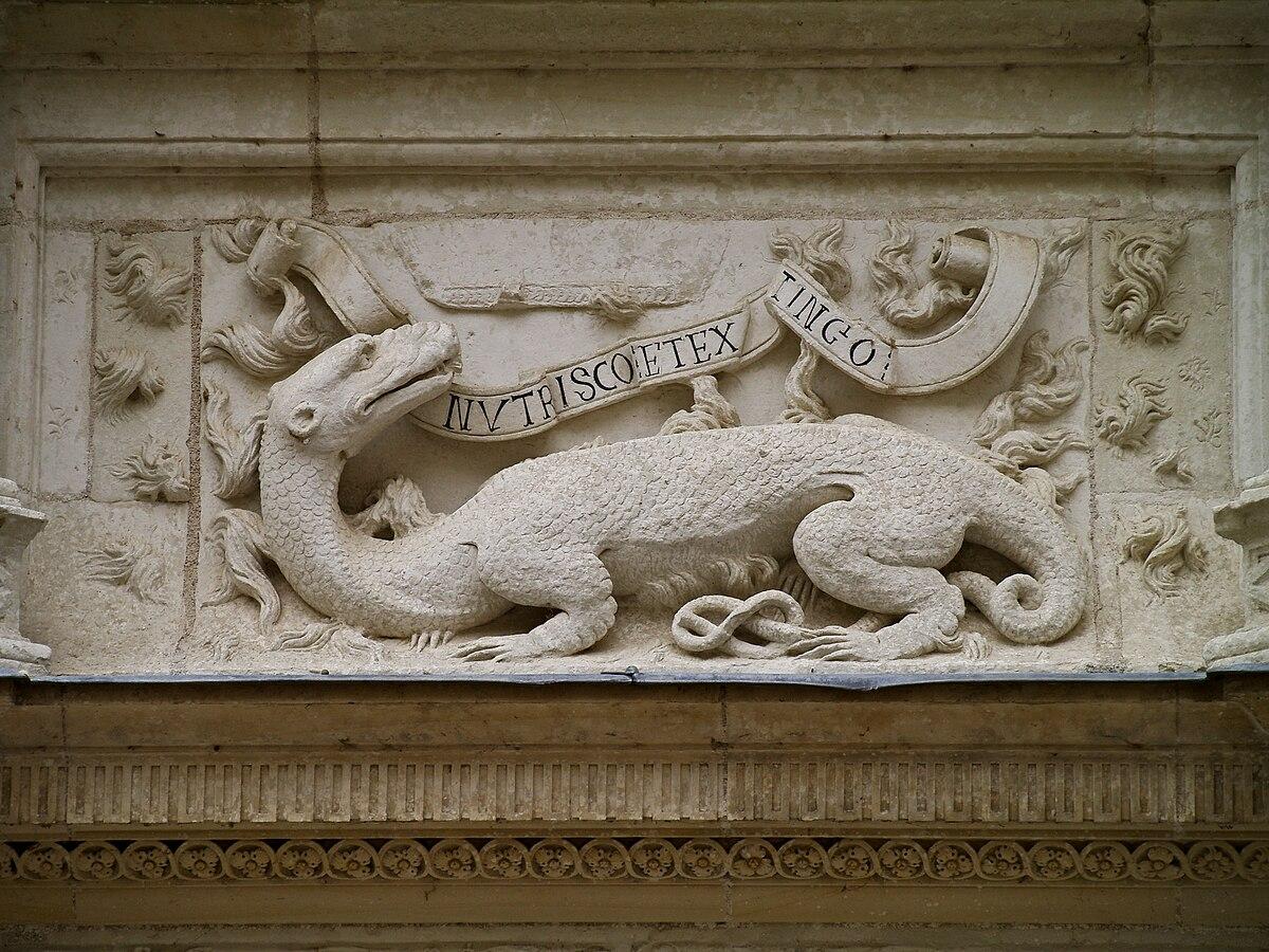 Nutrisco et extinguo Salamandre de François I