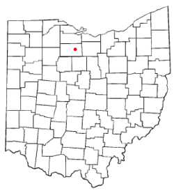 Location of Republic, Ohio