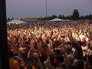 Les Schwab Amphitheater - OMD Summer Sunday Concert in 2003