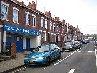 Kenilworth Road - Image: Oak Road Kenilworth Road