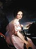 1833 oil painting by Thomas Sully of Octavia Celestia Valentine Walton, later known as Madame Le Vert