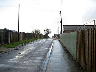 Easington Colliery - Image: Off Memorial Avenue, Easington Colliery