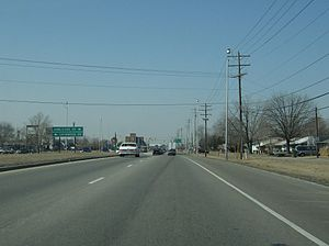 Ohio State Route 161 - Along State Route 161 just east of its intersection with Interstate 71