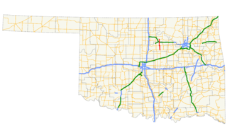 Oklahoma State Highway 108 highway in Oklahoma