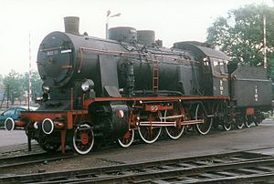 4-6-0 - Polish class Ok22
