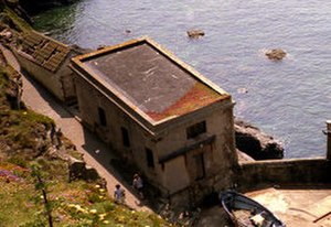 The Lizard Lifeboat Station - The second station was built in 1885 at Polpeor Cove.