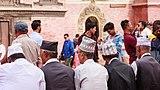Old Nepali Newar Peoples wearing traditional hat- Dhaka Topi-Patan Durbar Square-2061.jpg