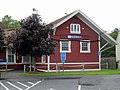 Old Saybrook station from parking lot, August 2012.JPG
