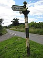 Old sign to Bolstone and Ballingham - geograph.org.uk - 892166.jpg