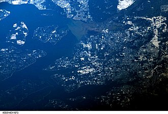 Olympia, Washington - Astronaut Photography of Olympia Washington taken from the International Space Station (ISS)
