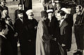 Omar Elwary the Mayor of Jerusalem in the Islamic World Forum with King Hussein in 1955..jpg