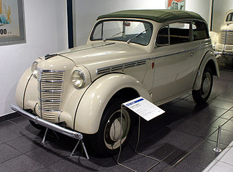"Opel Kadett - Opel Kadett Spezial (K38) ""Cabrio-Limousine"" (1939)"