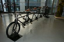 Tandem bicycle - Wikipedia