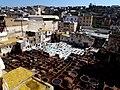 Open Air Tanneries Fez el Bali Fez Morocco - panoramio.jpg