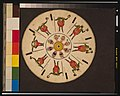 Optical illusion disc with a face catching a ball and a man with blackface taking a bow LCCN00651160.jpg