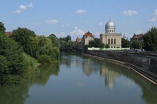 Crișul Repede river in Romania