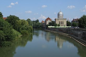 Crișul Repede (river) - The Crișul Repede in Oradea