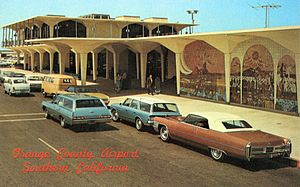 Orange County Airport postcard, 1970s.jpg