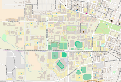 Module:Location map/data/Oregon State University OR - Wikipedia