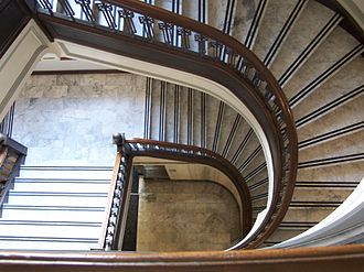 Oregon Supreme Court Building - Staircase inside the building