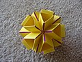 Origami Isosahedron (Design by Heinz Strobl) (3595750701).jpg