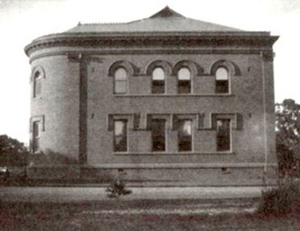 Sacred Heart Preparatory (Atherton, California) - The Main Building, at its original size before the 1906 earthquake