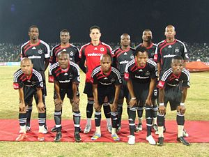 Orlando Pirates - Orlando Pirates starting line-up in 2009.