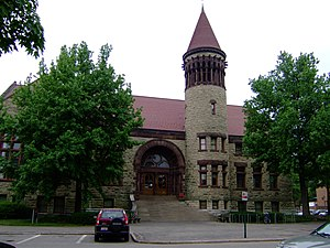 History of Ohio State University - OSU's Orton Hall, completed in 1893.