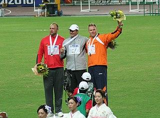 Gerd Kanter Estonian discus thrower