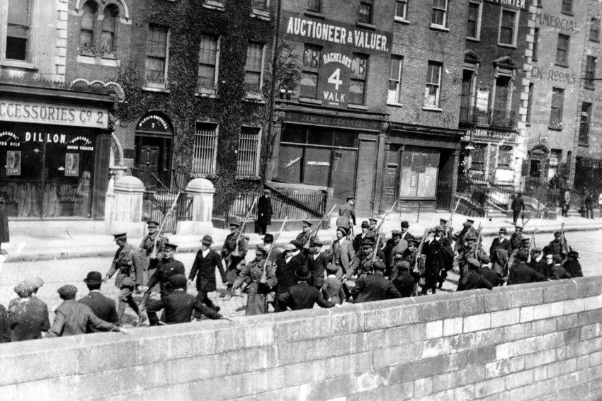 Osteraufstand - Dublin - gefangene Iren