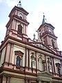 Ostrava, Bazilika Božského spasitele - věže.JPG