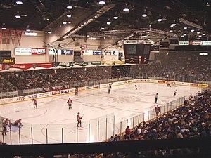 Ottawa 67's - TD Place Arena interior.
