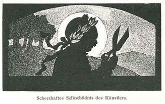 Otto Böhler - Image: Otto Böhler Selbstbildnis
