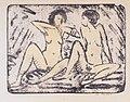 Otto Mueller - Zwei sitzende Mädchen mit Halskette - ca1912.jpeg