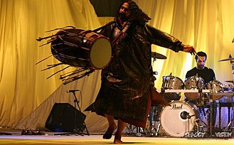 Dhol - Sufi dhol player Pappu Saeen, from Pakistan