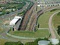 Overlooking Channel tunnel entrance - panoramio.jpg