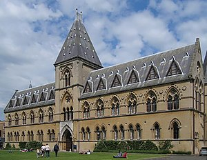 1860 Oxford evolution debate - The debate took place in the Oxford University Museum of Natural History.