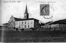 Oytier-Saint-Oblas, vue générale de Oytier en 1907, p151 de L'Isère les 533 communes - L C.jpg